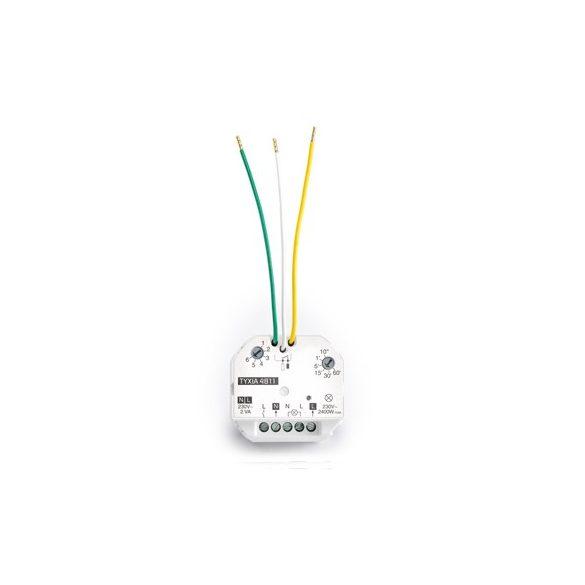 Приемник за включване/изключване 10 A + таймер TYXIA 4811