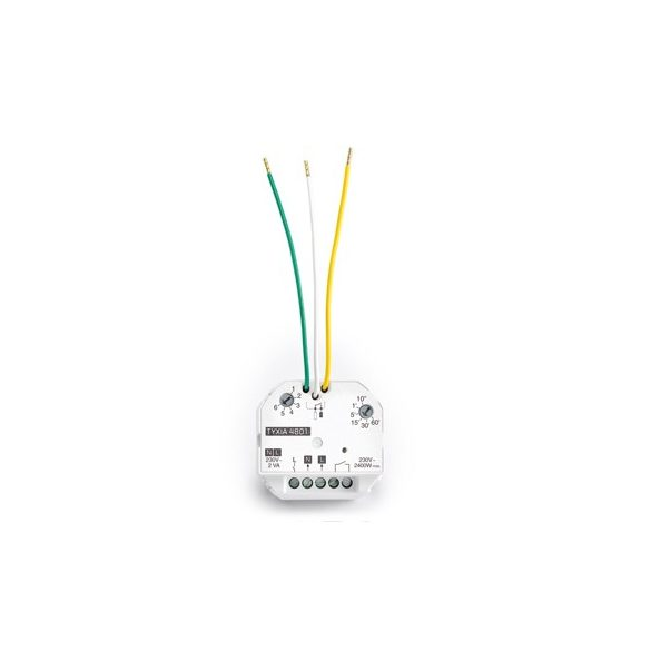 Приемник за включване/изключване 10 A + таймер TYXIA 4801