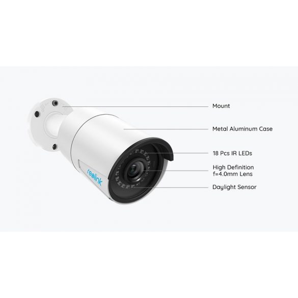 RLC-410 5MP PoE Security IP Camera