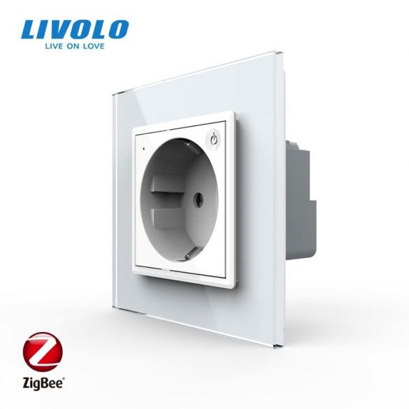 Механизъм управляем контакт ZigBee бял LIVOLO VL-C1EUZ-11