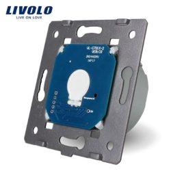 Механизъм за ед. бутон със сух контакт захранване 220V LIVOLO VL-C7-C701IH