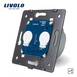 Сензорен механизъм за двоен ключ с дистанционнен контрол LIVOLO VL-C7-C702R