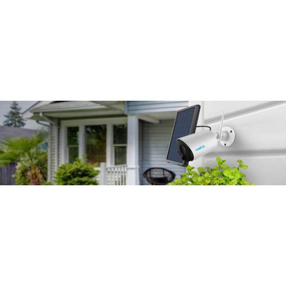 Безжична камера с вградена батерия, микрофон, слот за micro CD карта и датчик за движение - Reolink Argus Eco